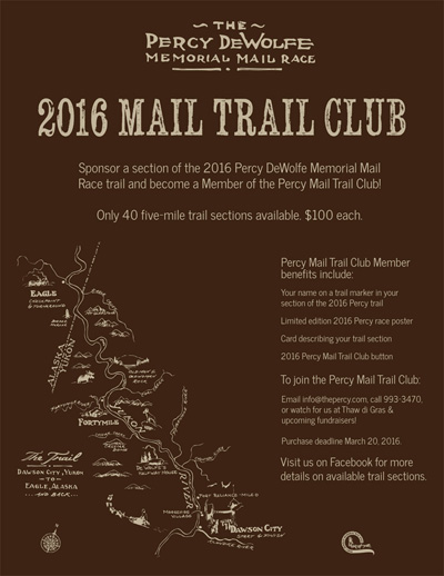 Sponsor a trail section poster